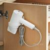 Hairdryer Wall Holder (With Cable Organizer) Dyson Makeup Bathroom Toilet Organizer Organiser Style Degree Sg Singapore
