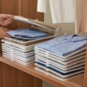 Easy Reach Clothes Organizer Shirts Organizers Organiser Closet Wardrobe Organization Style Degree Sg Singapore