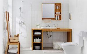 bathroom organisation ideas, hdb renovation, bathroom design, bathroom accessories, bathroom door, bathroom cabinets, style degree, singapore sg
