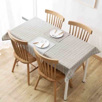 Get-together Table Cloth Dining Table Desk Kitchen Living Room Home Decor Style Degree Sg Singapore