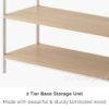 The Scandinavian Reading Shelf Book Shelves Magazine Rack Organizers Organiser Style Degree Sg Singapore