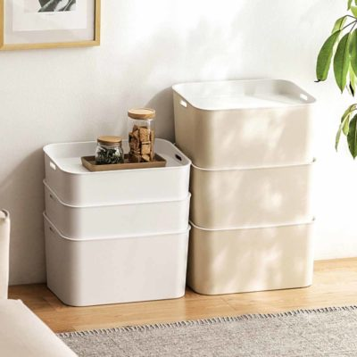 Essentials Storage Box Organizer Organiser Home Decor Living Style Degree Sg Singapore