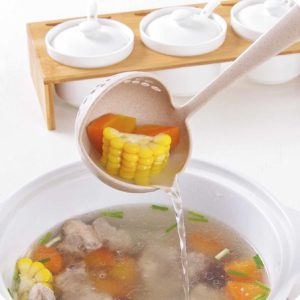2-in-1 Soup Ladle Steamboat Ladle Scoop Spoon Kitchen Utensils Style Degree Sg Singapore