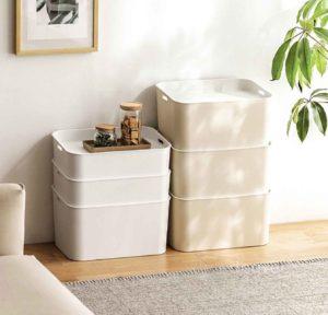 Essentials Storage Box Organizer Organiser Home Decor Living Style Degree Sg Singapore