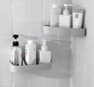 Kurve Bathroom Wall Holder Holders Organizer Organiser Style Degree Sg Singapore