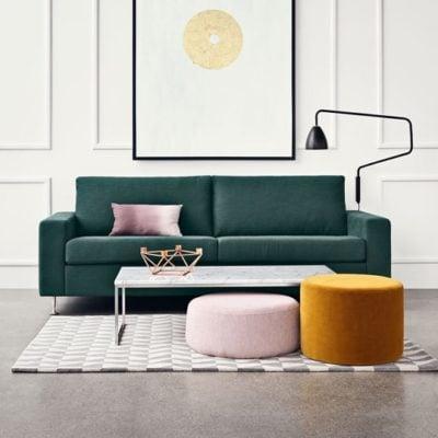 Complementary colour palette | Image source: decor8blog