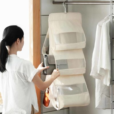 Purse & Handbag Closet Organizer wardrobe Organizers Slim Bags Organiser Holder Style Degree Sg Singapore
