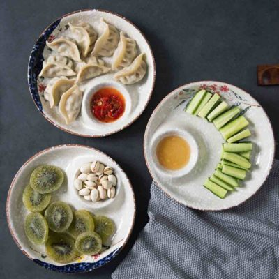Spring Snack Platter (With Saucer) Plates Dinnerware Dining Accessories Kitchen Style Degree Sg Singapore