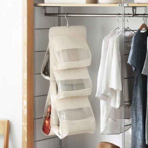 Purse & Handbag Closet Organizer wardrobe Organizers Slim Bags Organiser Holder Style Degree Sg Singapore