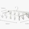 Daylight Foldable Drying Hanger (18 Clips) Socks Undergarment Laundry Drip Hanger Dryer Style Degree Sg Singapore