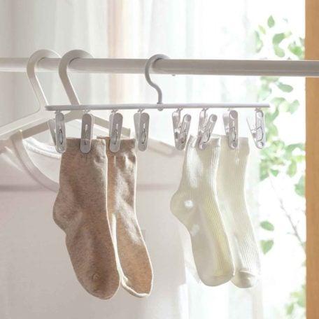Daylight Slim Drying Hanger Socks Undergarment Laundry Drip Hanger Dryer Style Degree Sg Singapore