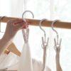 Portable Hook & Clip Hanger (6pc Set)