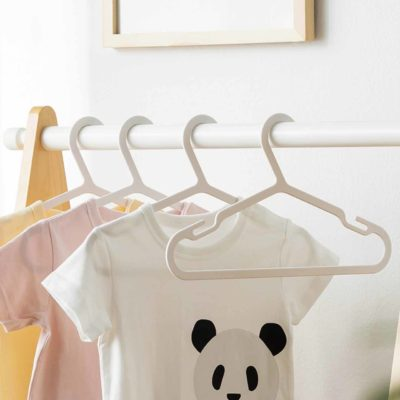 Everyday Children's Clothes Hanger (10pc Set) Kids Closet Wardrobe Style Degree SG
