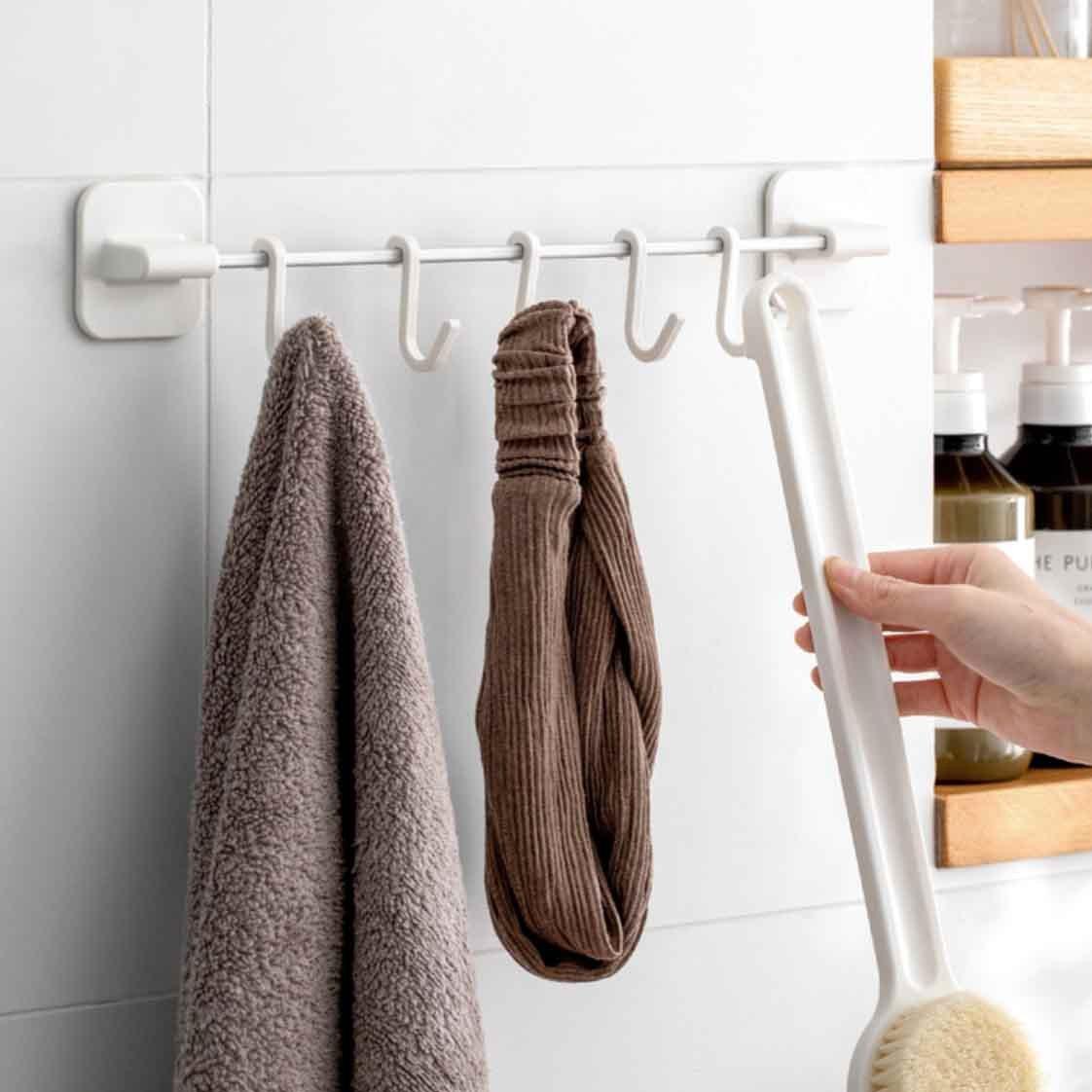 Luxe Wall Hanger Amp Hooks Kitchen Amp Bathroom Holder