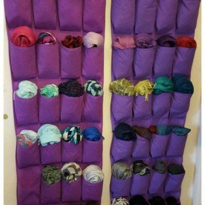 how to organize hijab, hijab organization ideas, scarf organizer, hijab hanger, ideas for organizing hijab, Style Degree, Singapore, SG, StyleMag.