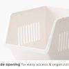 Luxe Stackable Basket Organizer Storage Box Boxes Kitchen Accessories Homeware Style Degree Sg Singapore