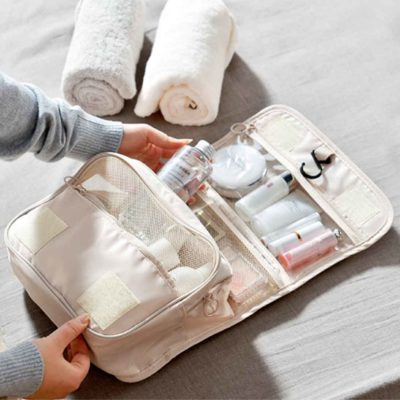 Classica Travel Toiletries Organizer Organiser Pouch Bathroom Toilet Holder Style Degree Sg Singaproe