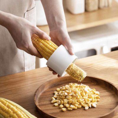 Easy Corn Peeler Sheller Cutter Shredder Shucker Style Degree Sg Singapore