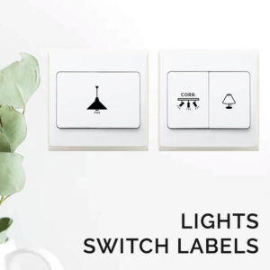 Lights Switch Sticker Labels Light Stickers Style Degree Sg Singapore