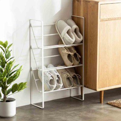 Luxe Shoe Rack Organizer Organiser Open Concept Shoes Holder Entryway Style Degree Sg Singapore