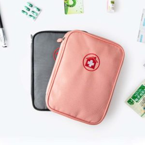 Slim First Aid & Medicine Travel Organizer Organiser Pouch Holder Style Degree Sg Singapore
