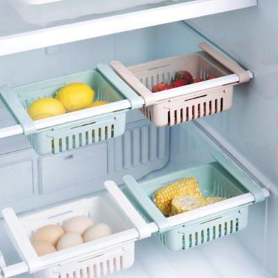 Extendable Fridge Sliding Organizer Food Storage Container Style Degree Sg Singapore