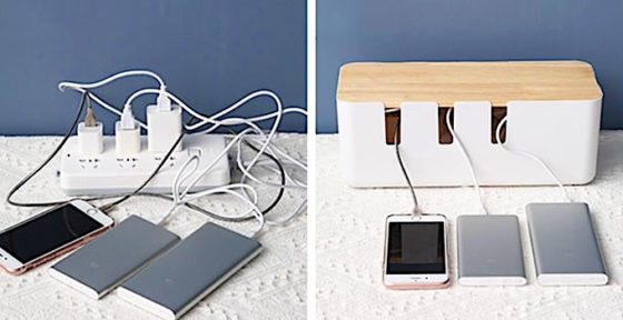 How To Organize & Hide Messy Cables, Wires, Extension Sockets
