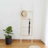 Scandinavian Ladder Towel Hanger Pine Wood Bathroom Living Room Hanging Ladder Wood Style Degree Sg Singapore