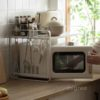 2-Tier Microwave Kitchen Rack Storage Countertop Oven Style Degree Sg Singapore