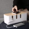 Scandinavian Cable Management Box Holder Wire Power Extender Organizer Style Degree Sg Singapore