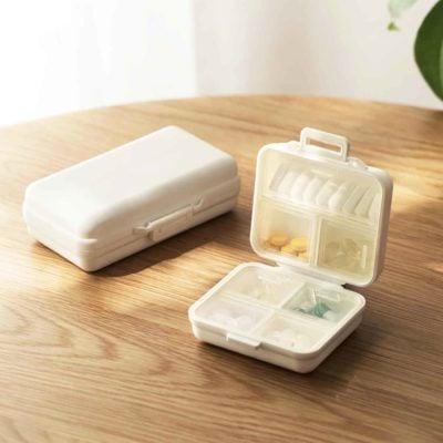 Pill & Medicine Travel Storage Box Medication Holder Organizer Organiser Style Degree Sg Singapore
