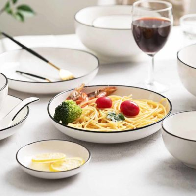 Stockholm Dining Plate Ceramic Dinnerware Tableware Style Degree Sg Singapore