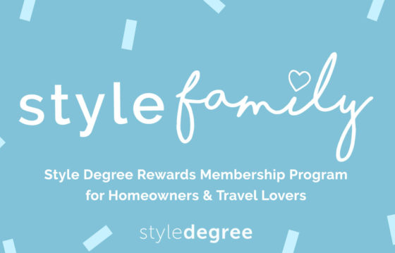 Introducing, StyleFamily – Our NEW Rewards Membership!