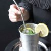 Eco Stainless Steel Drinking Straw (With Brush) Reusable Straw Metal Style Degree Sg Singapore