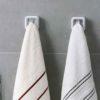 Anti-slip Cloth & Towel Wall Hanger Bathroom Kitchen Towel Style Degree Sg Singapore