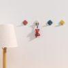 Pastel Wall Hanging Hooks (4pc Set) Hook Wall Holder Coat Hanger Style Degree Sg Singapore