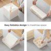 Foldable Drawer Closet Organizer Undergarment Bra Socks Wardroble Organiser Storage Box Style Degree Sg Singapore