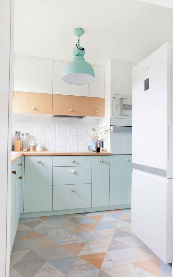 Pastel Kitchen Design 2 Stylemag Style Degree