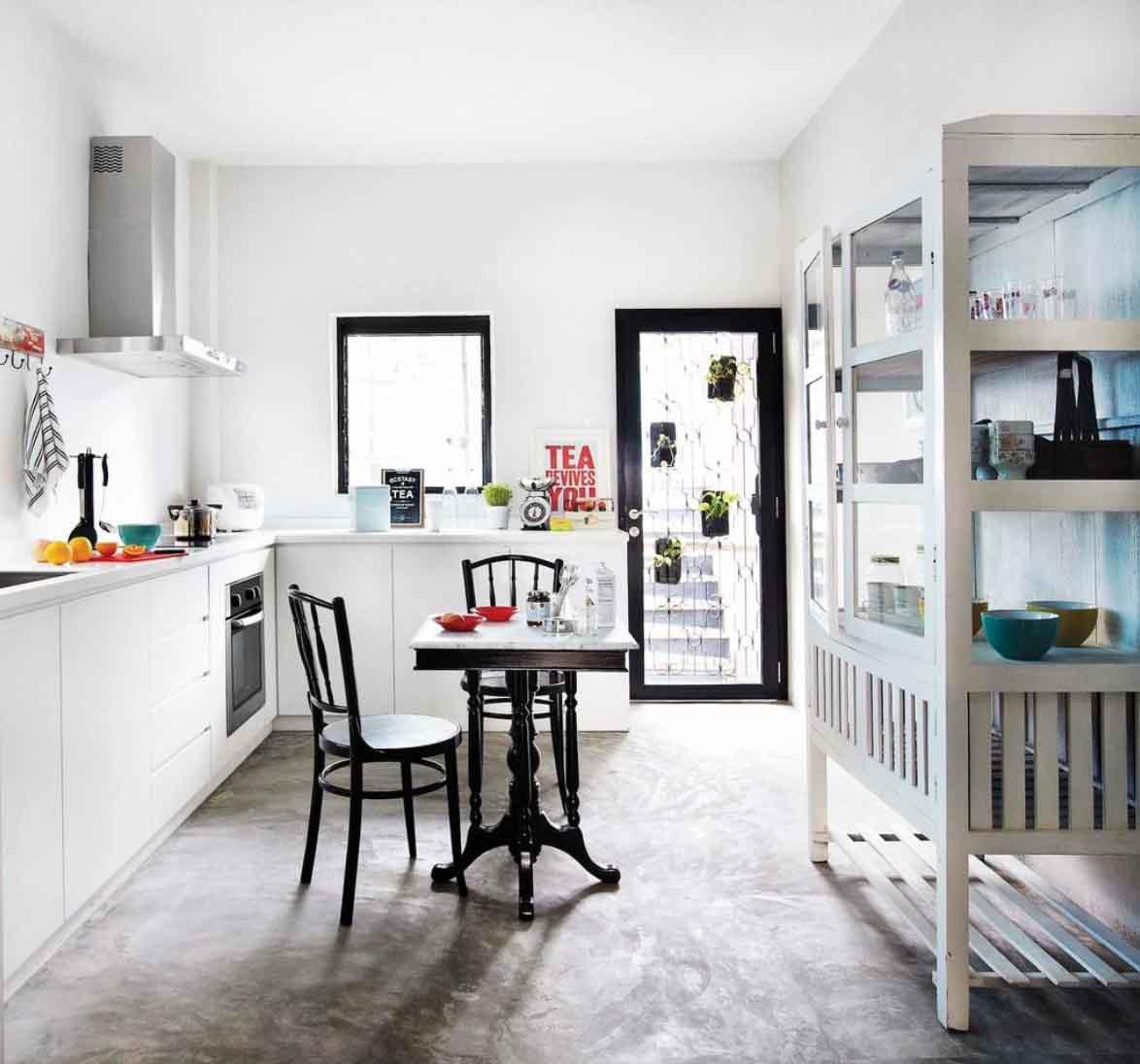 Retro Singapore Kitchen Design Ideas HDB Singapore