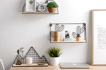 10 Floating Wall Shelves Decorating & Styling Tips