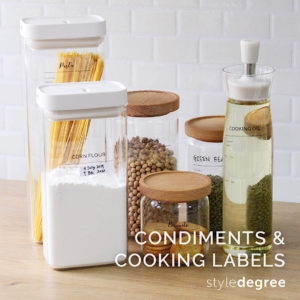 Pantry Sticker Labels (Condiments & Cooking)