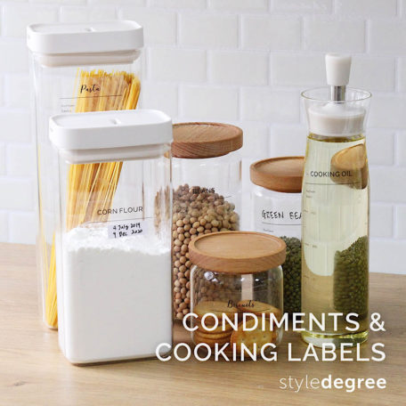 Condiments & Cooking Labels