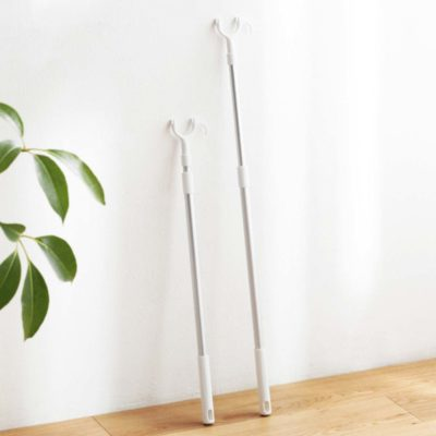 Aluminium Retractable Laundry Hanging Rod Clothes Hanger Stick Pole Drying Style Degree Sg Singapore