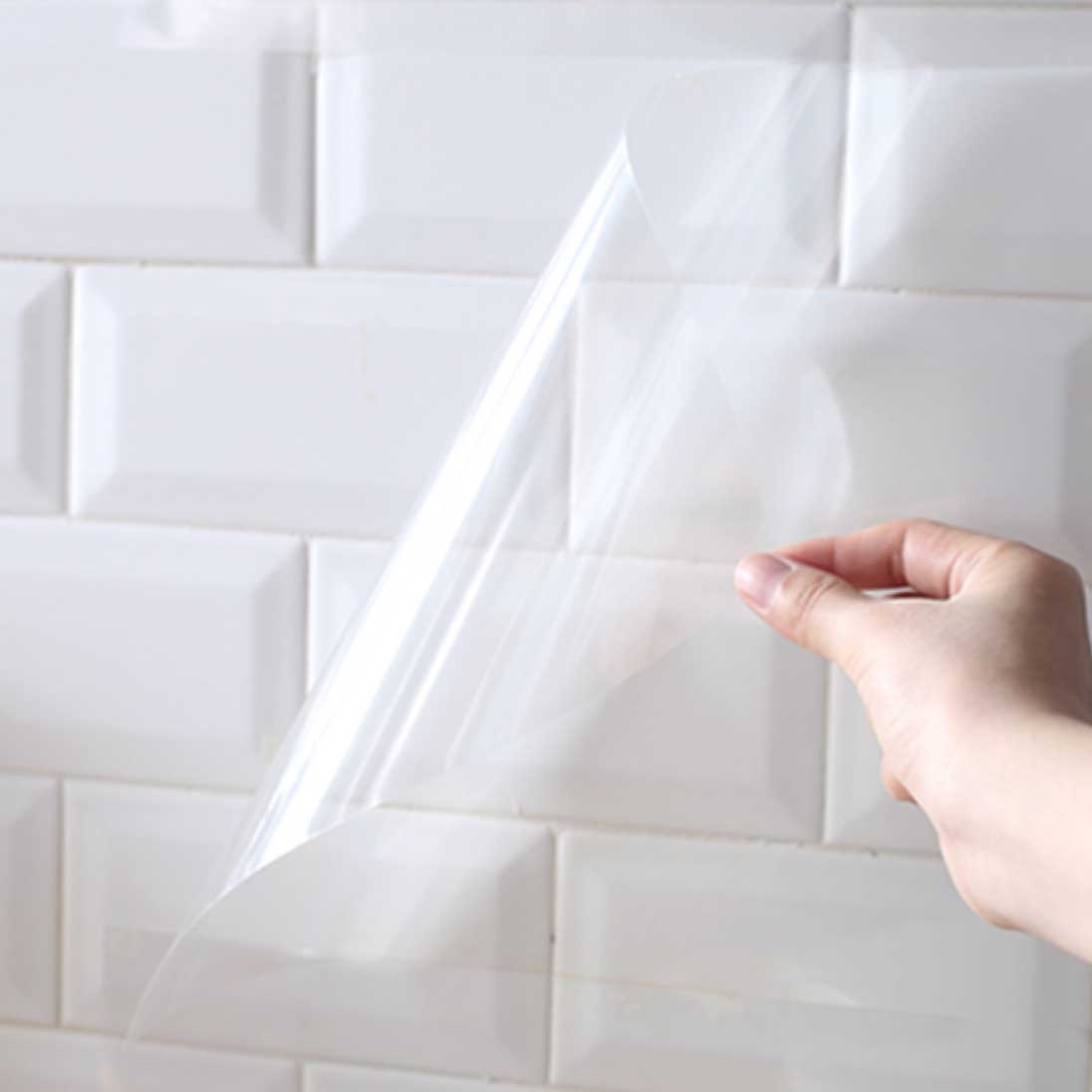 - Clear Kitchen Backsplash Protector Wall Cover Style Degree
