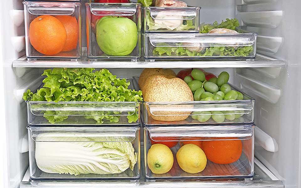 fridge organizer singapore fridge organiser bins singapore sg freezer organizer