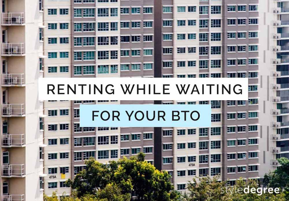 renting HDB or condo while waiting for BTO