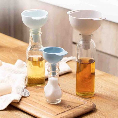 All-in-one Funnel & Filter (4pc Set) Kitchen Cooking Accessories Style Degree Sg Singapore