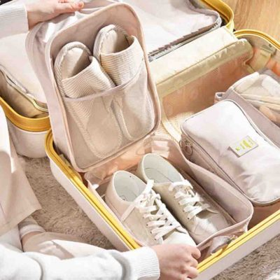 Classica Travel Shoe Bag Organizer Organiser Style Degree Sg Singapore