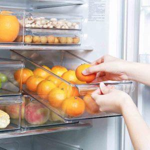 Klear Stackable Fridge Organizer Bins, fridge organizers bins, fridge organisers bins, clear fridge organiser bins, fridge organization fridge organization, singapore sg style degree