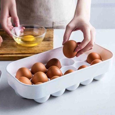 Klear Egg Holder Box Fridge Storage Container Style Degree Sg Singapore